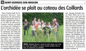 15.06.03 BR du mercredi St-Georges-sur-Moulon. Visite du coteau des Coil...
